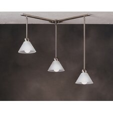 <strong>Kichler</strong> Mini Multi-Pendant Hanger in Brushed Nickel