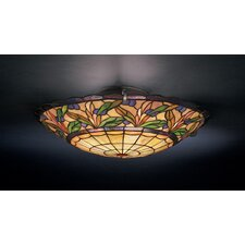 Secret Garden 3 Light Flush Mount