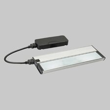KCL Series I All-in-One  Xenon Under Cabinet Strip Light in Brushed Nickel