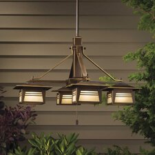 Zen Garden 4 Light Outdoor Chandelier