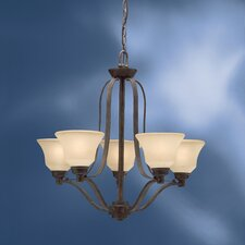 <strong>Kichler</strong> Langford 5 Light Up Chandelier