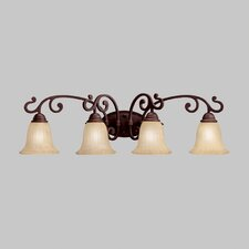 Wilton 4 Light Vanity Light