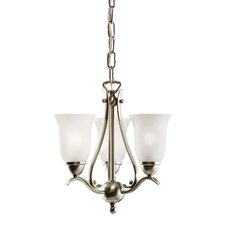 <strong>Kichler</strong> Dover 3 Light Chandelier