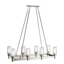 Circolo 8 Light Chandelier