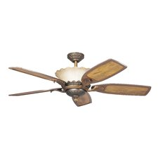 "52"" Golden Iridescence 5 Blade Ceiling Fan"