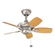 "30"" Canfield 5 Blade Ceiling Fan"