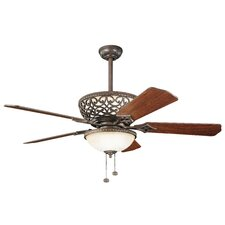 "52"" Cortez 5 Blade Ceiling Fan"