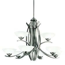 <strong>Kichler</strong> Bellamy 9 Light Chandelier