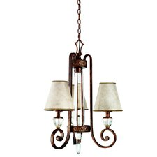 Hanna 3 Light Mini Chandelier