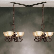 Mini Multi-Pendant Hanger in Tannery Bronze