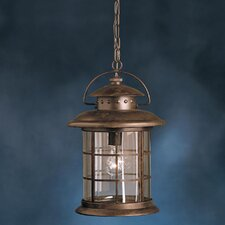 Rustic 1 Light Outdoor Ceiling Pendant
