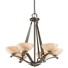 <strong>Kichler</strong> Garland 6 Light Chandelier