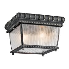 Venetian Rain Outdoor Flush Mount