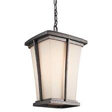 Brockton 1 Light Outdoor Hanging Lantern