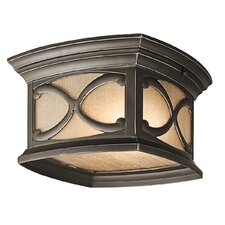 Franceasi 2 Light Flush Mount