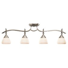<strong>Kichler</strong> Olympia 4 Light Semi Flush Mount