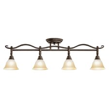 <strong>Kichler</strong> Pomeroy 4 Light Semi Flush Mount