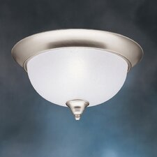 <strong>Kichler</strong> Dover 2 Light Flush Mount