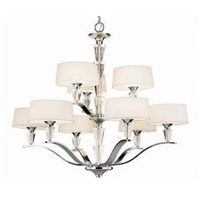 Crystal Persuasion 9 Light Chandelier