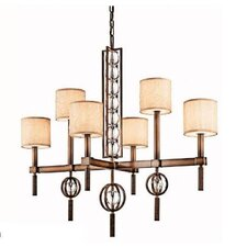 Celestial 6 Light Chandelier