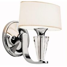 Crystal Persuasion 1 Light Wall Bracket
