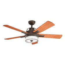 "52"" Lacey 5 Blade Ceiling Fan"