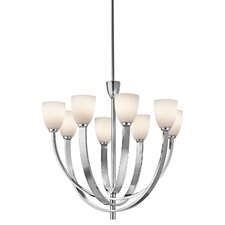 <strong>Kichler</strong> Laval 8 Light Chandelier