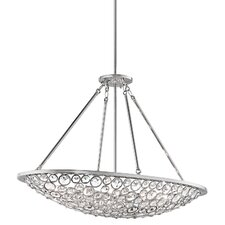 Liscomb 10 Light Oval Chandelier
