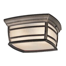 <strong>Kichler</strong> Mcadams 1 Light Outdoor Flush Mount