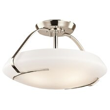 4 Light Semi Flush Mount