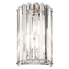 Crystal Skye 2 Light Wall Sconce