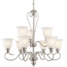 <strong>Kichler</strong> Tanglewood 9 Light Chandelier
