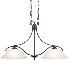 <strong>Kichler</strong> Wellington 2 Light Kitchen Island Pendant