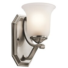 <strong>Kichler</strong> Wellington Square 1 Light Wall Sconce