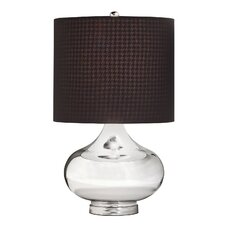 "25.75"" H Table Lamp with Drum Shade"