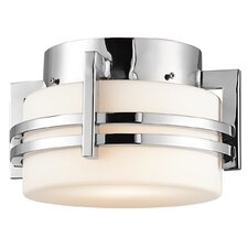 <strong>Kichler</strong> Pacific Edge 1 Light Outdoor Flush Mount
