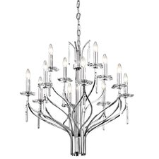 Aliso 12 Light Chandelier