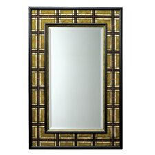 Malcolm Beveled Mirror in Camel