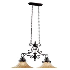 Cottage Grove 2 Light Kitchen Island Pendant