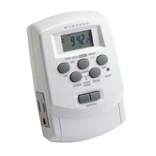 Landscape Digital Transformer Timer in White