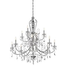 <strong>Kichler</strong> Jules 12 Light Chandelier