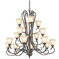 <strong>Kichler</strong> Feville 16 Light Chandelier