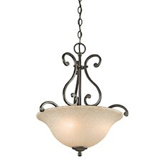 <strong>Kichler</strong> Camerena 3 Light Inverted Pendant