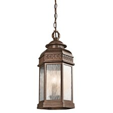 Tolland 3 Light Outdoor Hanging Pendant