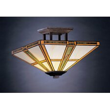 Oak Park 2 Light Semi Flush Mount