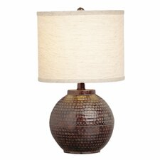 "New Informality Round 16"" H Table Lamp with Drum Shade"