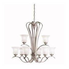 <strong>Kichler</strong> Wedgeport 9 Light Chandelier