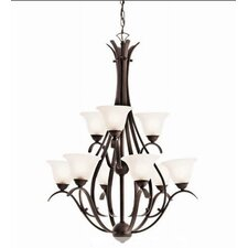 Dover 9 Light Chandelier