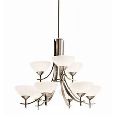 <strong>Kichler</strong> Olympia 9 Light Chandelier