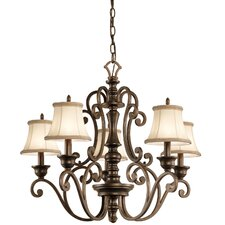 <strong>Kichler</strong> Mithras 5 Light Chandelier